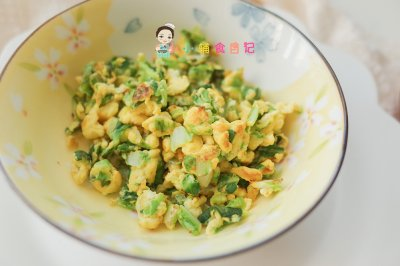 9个月以上鸡蛋炒青菜怎么做好吃?9个月以上鸡蛋炒青菜的家常做法