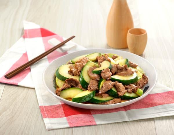 青瓜炒牛肉怎幺做?青瓜炒牛肉的做法