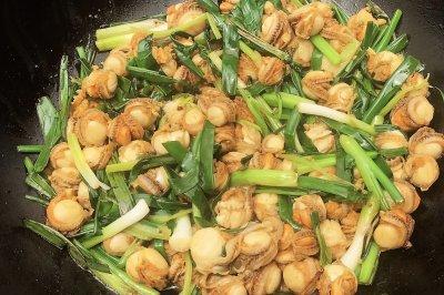 香葱炒红螺怎么做好吃?香葱炒红螺的家常做法