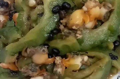 红螺炒苦瓜怎么做好吃?红螺炒苦瓜的家常做法