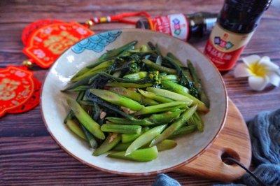 蚝汁红菜苔怎么做好吃?蚝汁红菜苔的家常做法