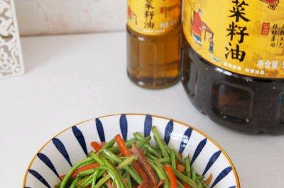 芦蒿炒咸肉怎么做好吃?芦蒿炒咸肉的家常做法