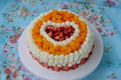 芒果草莓蛋糕怎么做好吃?芒果草莓蛋糕的家常做法