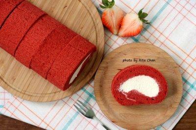 红丝绒蛋糕卷怎么做好吃?红丝绒蛋糕卷的家常做法
