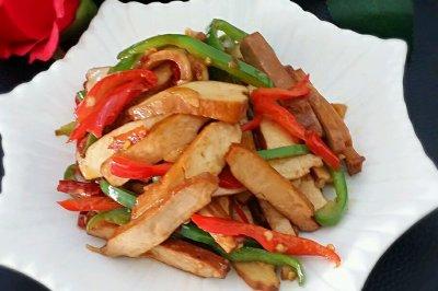 小炒豆腐干怎么做好吃?小炒豆腐干的家常做法