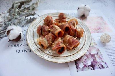 培根西梅卷怎么做好吃?培根西梅卷的家常做法