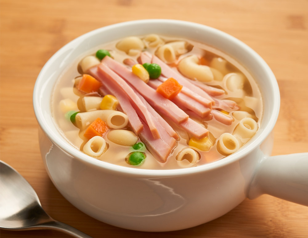火腿汤通粉怎幺做?火腿汤通粉的做法