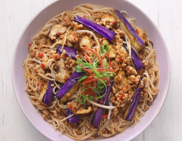 鱼香茄子炆米怎幺做?鱼香茄子炆米的做法