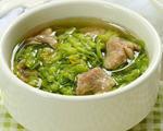 夜兰花肉片汤的做法_夜兰花肉片汤怎么做