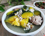南瓜薏米骨头汤的做法_南瓜薏米骨头汤怎么做好喝