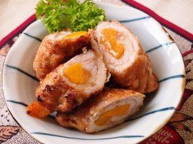 香桃猪肉捲【简易家常食谱】的做法