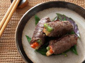 蔬菜牛肉捲的做法