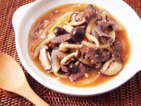 鲜菇绘牛肉饭的做法