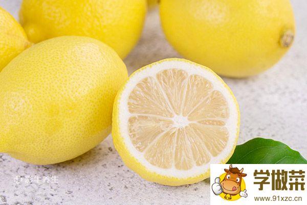 柠檬和枸杞一起泡水喝可以吗