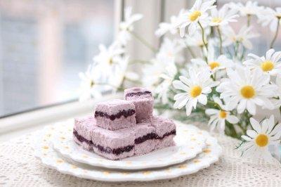 紫薯松糕怎么做好吃?紫薯松糕的家常做法