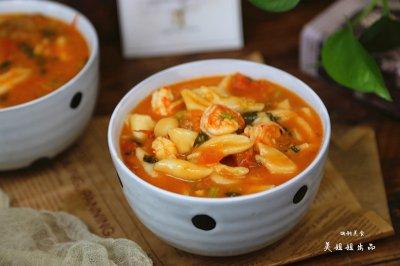番茄虾仁剪刀面怎么做好吃?番茄虾仁剪刀面的家常做法