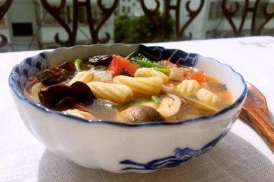 面食烩麻食怎么做好吃?面食烩麻食的家常做法