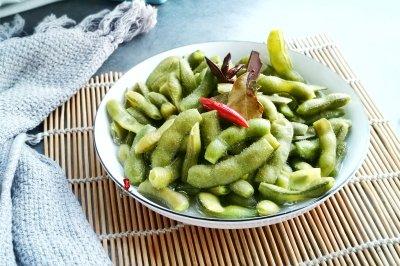 盐水毛豆怎么做好吃?盐水毛豆的家常做法