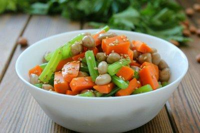 芹菜炝拌花生米怎么做好吃?芹菜炝拌花生米的家常做法