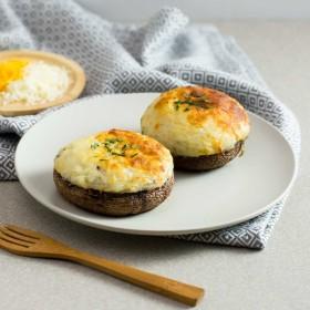 白松露薯蓉焗大啡菇的做法