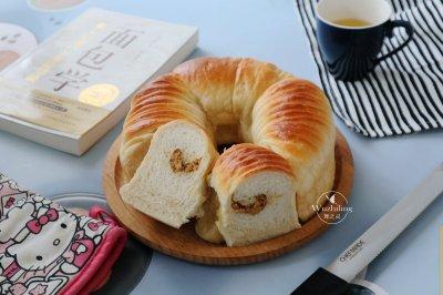 全麦肉松毛线面包怎么做好吃?全麦肉松毛线面包的家常做法