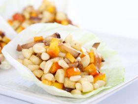 松子豆乾生菜包的做法