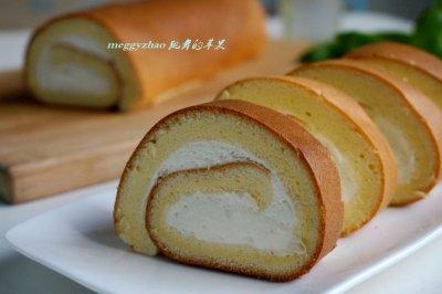 奶油戚风蛋糕卷怎么做好吃?奶油戚风蛋糕卷的家常做法