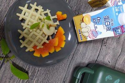 椰香华夫饼怎么做好吃?椰香华夫饼的家常做法