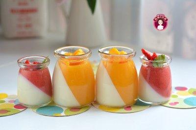 水果冻牛奶布丁怎么做好吃?水果冻牛奶布丁的家常做法