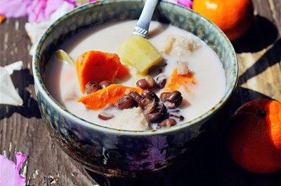 红豆芋头甜薯汤怎么做好吃?红豆芋头甜薯汤的家常做法