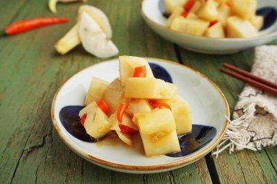 蚝油炝藕丁怎么做好吃?蚝油炝藕丁的家常做法