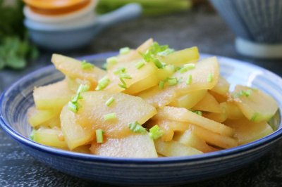 素炒冬瓜片怎么做好吃?素炒冬瓜片的家常做法