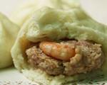 鲜虾生肉包的做法_鲜虾生肉包怎么做好吃