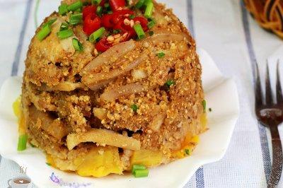 五谷粉蒸肉怎么做好吃?五谷粉蒸肉的家常做法