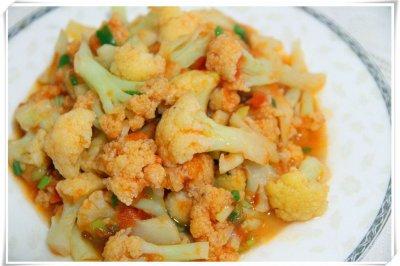 茄汁菜花怎么做好吃?茄汁菜花的家常做法