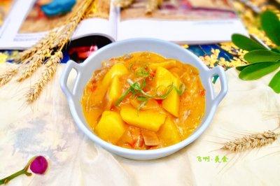 咖喱土豆饭怎么做好吃?咖喱土豆饭的家常做法