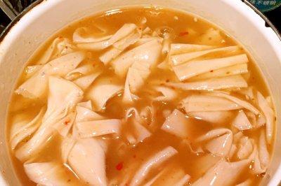 汤汁豆皮怎么做好吃?汤汁豆皮的家常做法