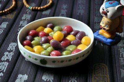 彩色丸子怎么做好吃?彩色丸子的家常做法