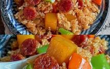 香肠土豆焖饭!电饭煲懒人做法