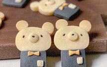 可爱又好吃小熊曲奇饼干