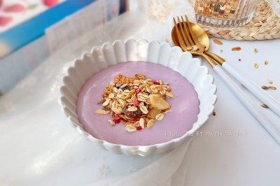芋泥奶昔泡麦片怎么做好吃?芋泥奶昔泡麦片的家常做法