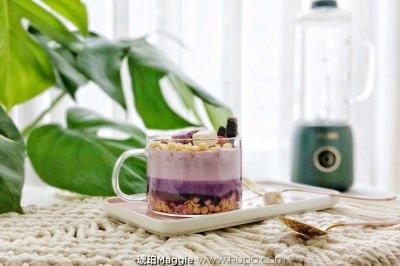 渐变紫薯燕麦奶昔怎么做好吃?渐变紫薯燕麦奶昔的家常做法