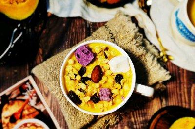 水果燕麦脆南瓜奶昔怎么做好吃?水果燕麦脆南瓜奶昔的家常做法