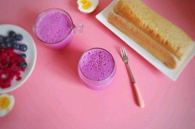 蓝莓奶昔怎么做好吃?蓝莓奶昔的家常做法