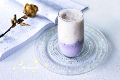 蓝莓香蕉冰奶昔怎么做好吃?蓝莓香蕉冰奶昔的家常做法