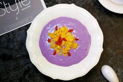 芋泥奶昔怎么做好吃?芋泥奶昔的家常做法