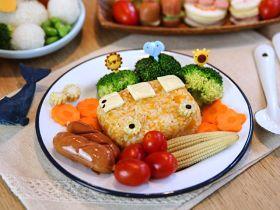 健康南瓜饭团的做法