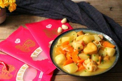 丸子咖喱面条怎么做好吃?丸子咖喱面条的家常做法
