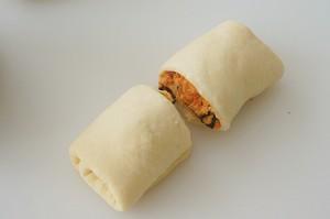 真·多肉|猪肉脯肉松海苔芝士片吐司|料超多|超满足|好吃极了的做法 步骤14