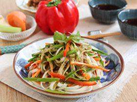 蔬菜凉拌麵的做法